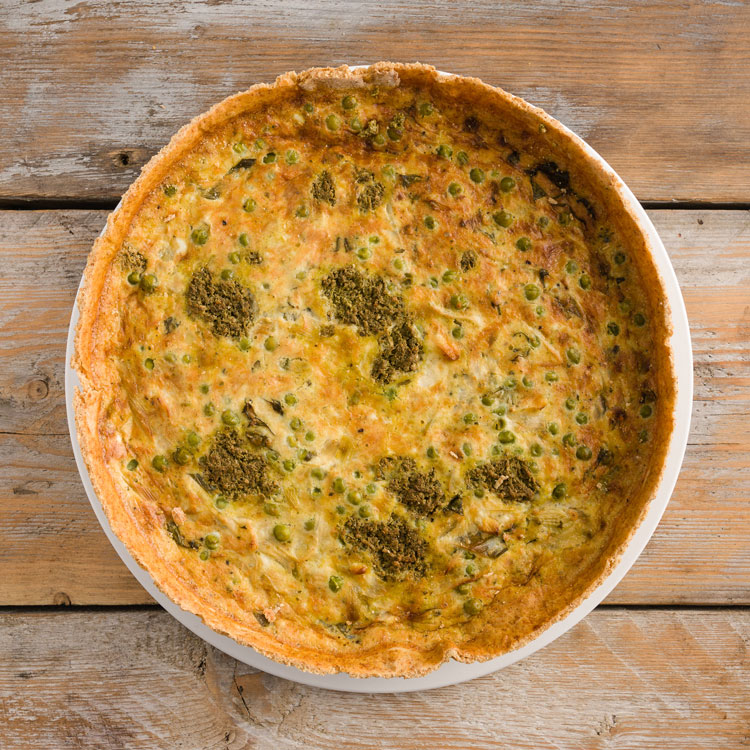 Basil2020-16-Leek,-Pea-and-Pesto-Quiche